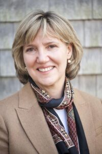 Vineyard Gazette new publisher, Jane Seagrave